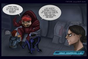 ME: Wrex Foreshadowing by carrinth