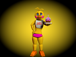 Cinema4D Toy Chica! by GaboCOart