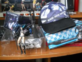My Black Rock Shooter merchandise collection by Sgtsoupie
