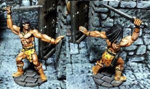 Traeg the Barbarian by Spielorjh