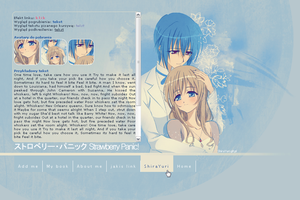 Layout 001 by ShiraYuri-Site