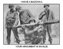 I have a Bazooka. by themaker360