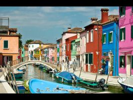 United Colours of Burano by baronjungern