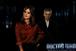 12th Doctor and Clara Poster by feel-inspired