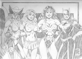 DC Babes by bradbarry2