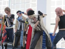 FF XIII Imma punch you by TheSapphireDragon1