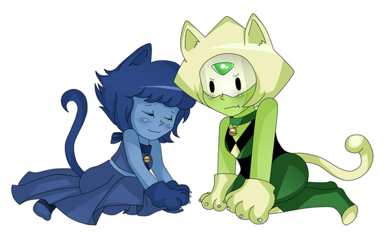 Cats by colorfulkitten