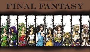 The Girls of Final Fantasy by Tamao