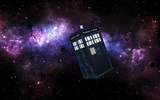 Tardis in Space by themikester86