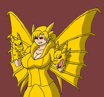 Queen Ghidorah-sama by Brian12