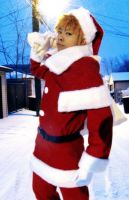 Ichigo X-mas cosplay by red-cluster