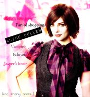 Alice Cullen by sailorelo