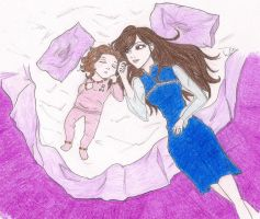 Bella and Renesmee by Faith92