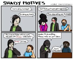 Shady Motives Fan Fiction by AceNeophyte
