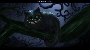 The Cheshire Cat by freedomheart