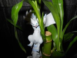 Reshiram in Bamboo....RAR by KyuremGirl