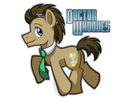 Doctor Whooves by BuizelCream