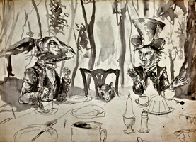 Mad Hatter's Tea Party by KBS-Art