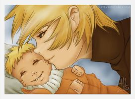 Naruto: Daddy's Baby Boy by Fuienu-chan