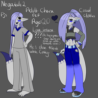 Negatale2 Adult Chara ref by ReneesDetermination