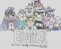 Ed Asner Tribute by CelmationPrince