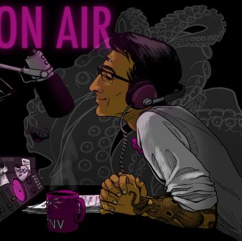 On the air with Cecil Baldwin by lily-fox