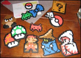 Perler beads by Jag-san
