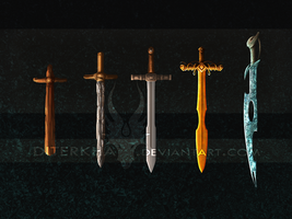 Minecraft Swords Again by Diterkha