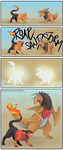 PKMNation: evolving Buena and Gold by MasamuneRevolution