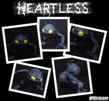 Heartless Papercraft by acidic055