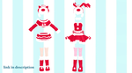 NXJA Xmas Bunny and cat outfit Download by 9844