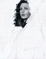 Kate Beckinsale WIP 1 by theresebees