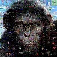 Planet of the Apes Mosaic by Cornejo-Sanchez