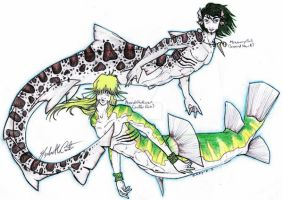 Mermen Reed 'N Mowway by OhKey-FreeFlyer