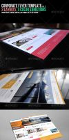 Corporate Flyer Template vol2 by madalincmc