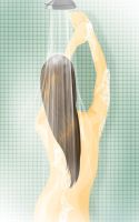 Showering by 1anina