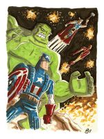 Avenging by OtisFrampton