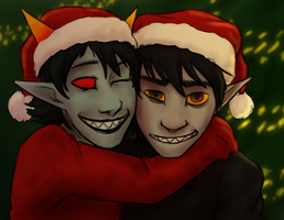 Merry Christmas by Night-of-Void