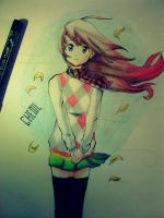 Anime Girl by chedil