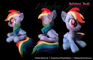 Custom Sitting Dashy Plushy by SakuSay
