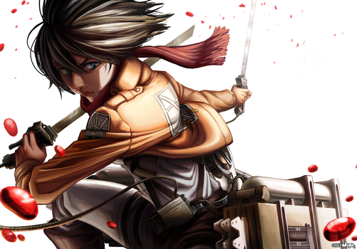 Mikasa by OnlyNura