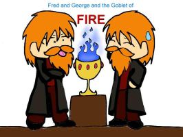 Fred and George Chibis by Otonashi-girl-08