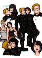 Pacific Rim doodles by VassHappenin