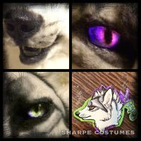 Voodoo fox details by Sharpe19