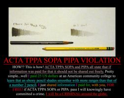 ACTA TPPA SOPA PIPA VIOLATION by goblincreations