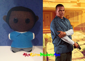 GTA V Plushes: Franklin Clinton by AkaKiiroMidoriAoi