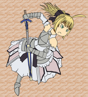 Saber Lily by Caladchan