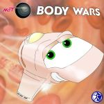 Tee-Hee Quilt - Body Wars by Stitchfan