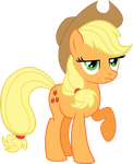 Applejack - vector by VaderPL