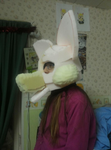 Wolfie fursuit WIP by 12wolfgir12